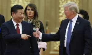 Chinese President Xi jinping and US president Donald Trump - close to making a deal.