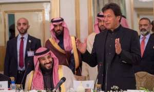 Imran Khan and Saudi Crown Prince MBS