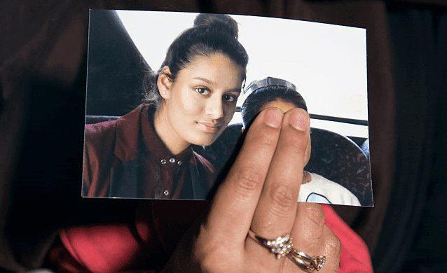 Bring groomed ISIS bride home