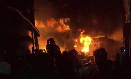 Dhaka fire kills 20