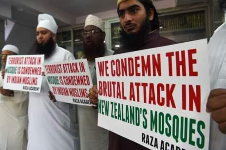 Muslims protesting India