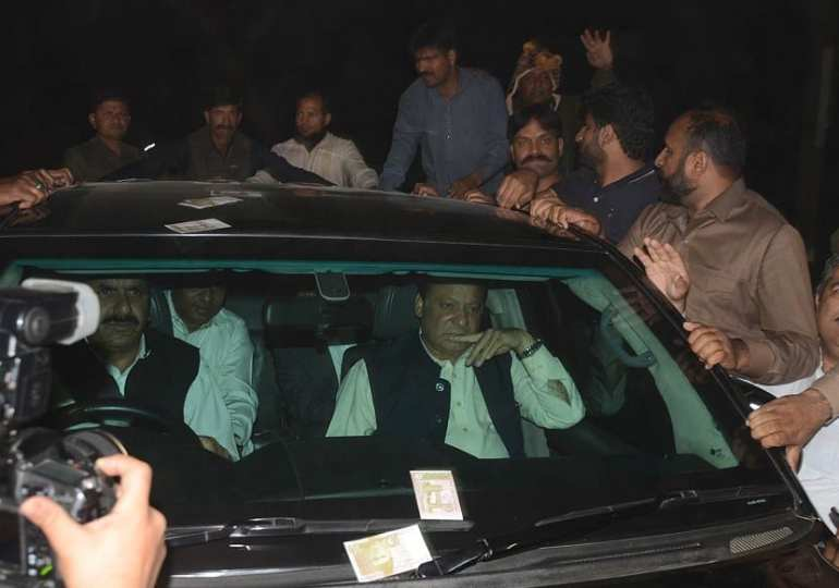 Pakistani court grants bail to ex-PM Sharif for health reasons