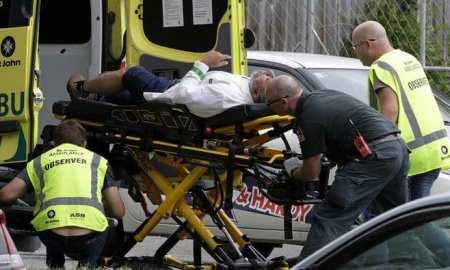 At least 49 killed as gunman livestreams New Zealand mosque 'terrorist attacks'