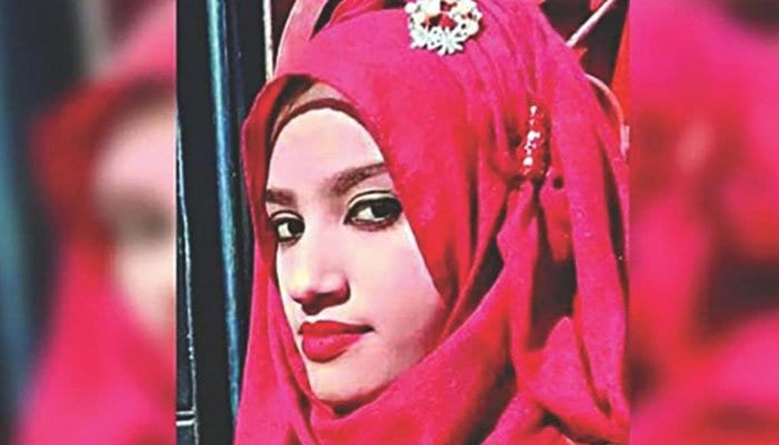 A schoolgirl was burned to death in Bangladesh on the orders of her head teacher