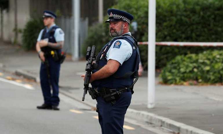 Bomb threat in Christchurch, New Zealand