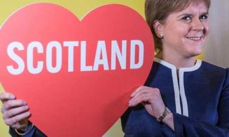 Sturgeon baits May over independence