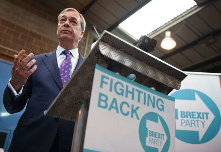Nigel Farage launches his new 'Brexit Party to start a Revolution'