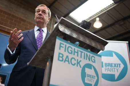 Nigel Farage launches his new Party - The Brexit Party