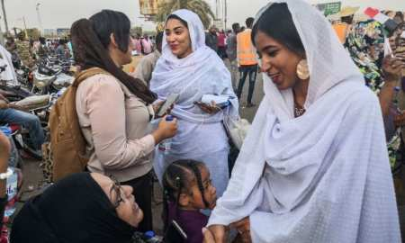 Sudan's women rise to take power back to the people