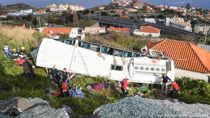 Breaking News: 29 killed on a tourist bus in Portugal