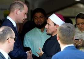 Prince William meets New Zealand mosque survivors