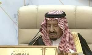Saudi Arabia's King Salman Iran perpetrates terrorist acts directly or through proxies to undermine Arab security