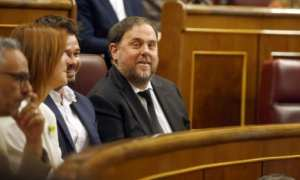 Junqueras in Congress blocked from joining the EU by Spain's Supreme Court