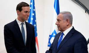 Kushner & Netanyahu making a deal for the Palestinians, which the Palestinians have no say in