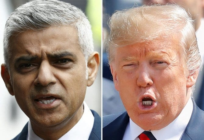 Sadiq Khan v President Trump - the feud fuelled by racism