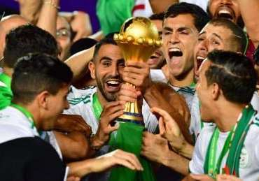 Algeria win the African cup after 29 years