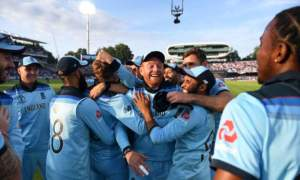 England Champions of the World - CWC19 Champions at the home of cricket Lords.