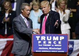 Farage calls for UK ambassador to be sacked over leaked Trump memos