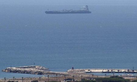 Iranian oil tanker seized
