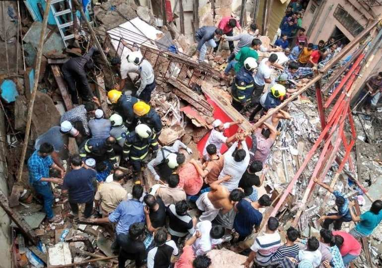 Breaking News: Mumbai building collapsing 5 dead many more still trapped