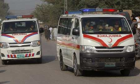In a suicide attack on District Headquarter Hospital and firing at a police check-post