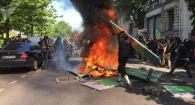 Violence erupts in Paris