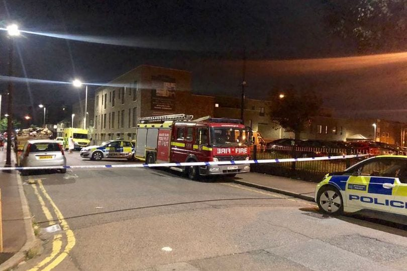 Breaking News: Police in Barking at the scene of a critical incident following a bomb threat at the block of flats