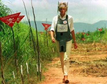 Walking through landmines in Angola