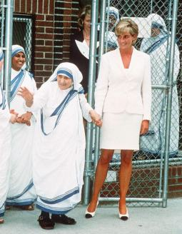 Diana and Mother Teresa
