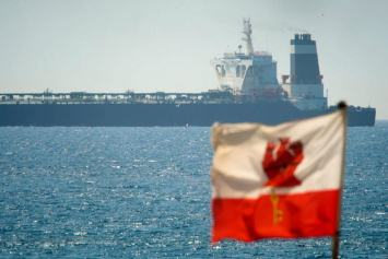 Iranian tanker at the centre of UK and Iran standoff leaves Gibraltar