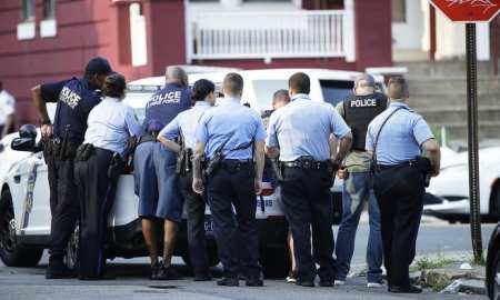 A lone Gunman Firing at Police in Philadelphia - 7 hour standoff!