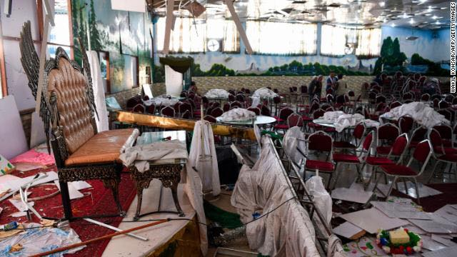Kabul: 63 people killed at a wedding, ISIS claims responsibility