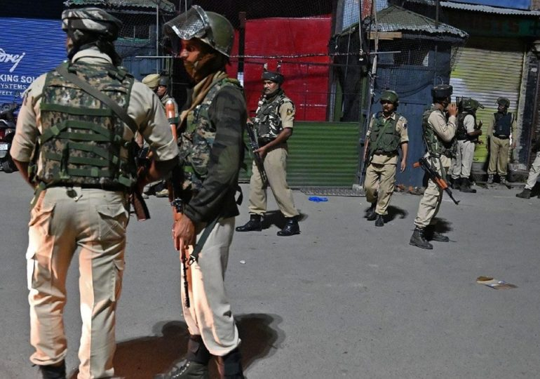 Latest: Kashmir has gone dark as India forces control