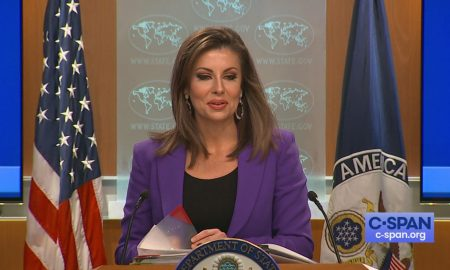 State department briefing by Morgan Ortagus regarding the tensions in Kashmir