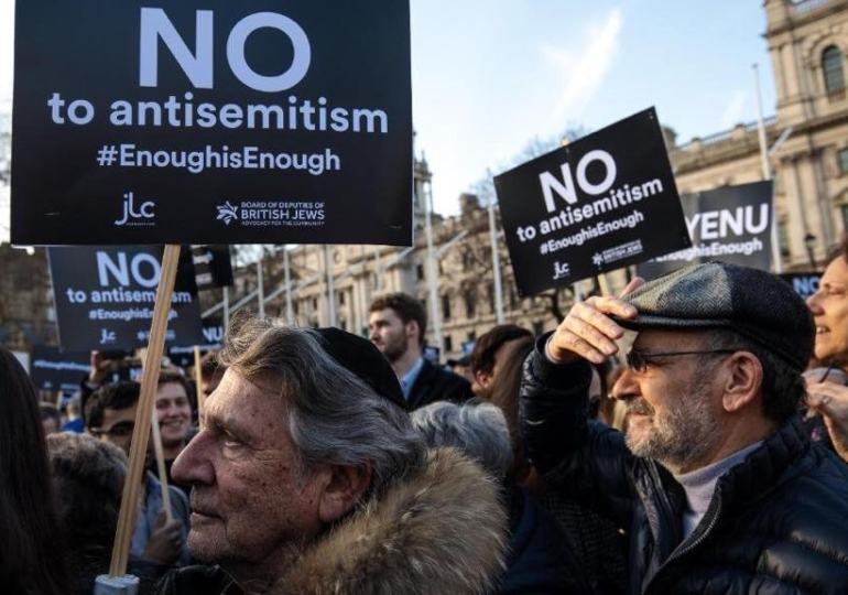 Antisemitic incidents up 10%