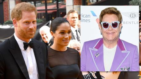 Elton John condemns media's 'character assasination' of Harry and Meghan