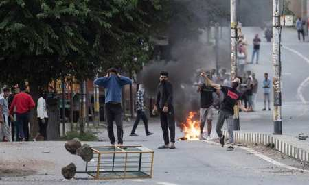 Thousands of people held anti-India protests in occupied Kashmir- horror on Eid Ul Adha