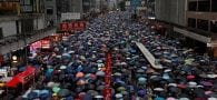Hong Kong: Huge peaceful rally, despite Beijing warning