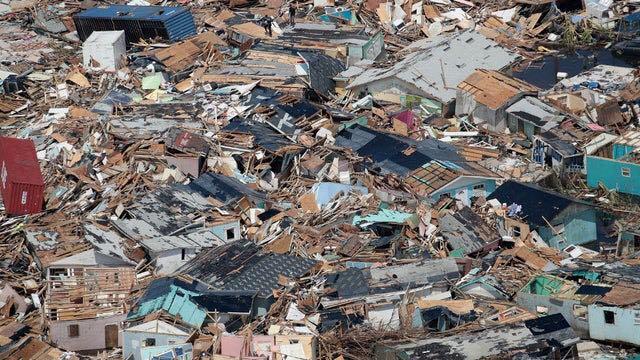 Hurricane Dorian hits Carolinas and causes flooding