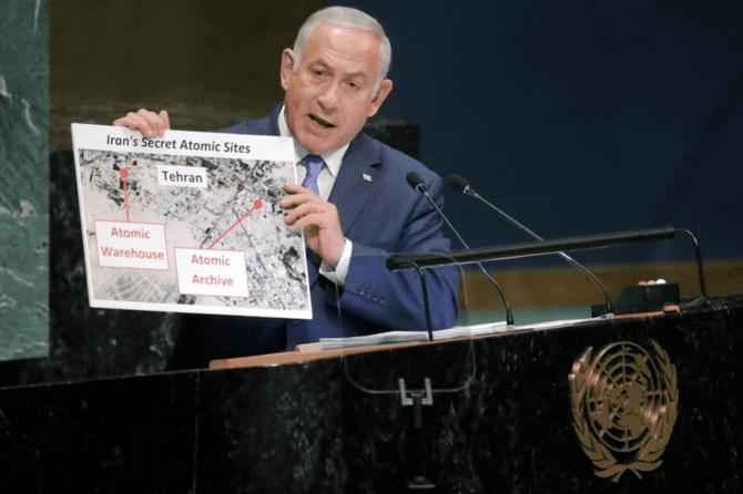 Iran's 'secret Atomic warheouse'