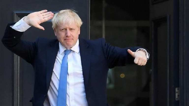 Boris in the Sunday papers