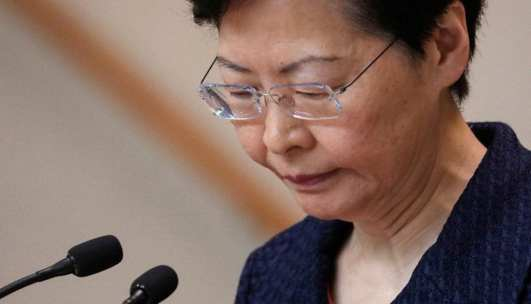 Hong Kong: Lam would quit if she could