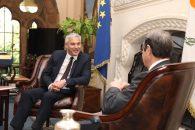 Brexit secretary to meet Eu's chief negotiator