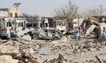 Afghanistan war: Deadly Taliban attack 'destroys' hospital