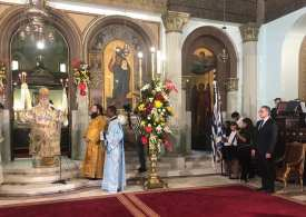Greek Orthodox church reopens after 2 years in Egypt