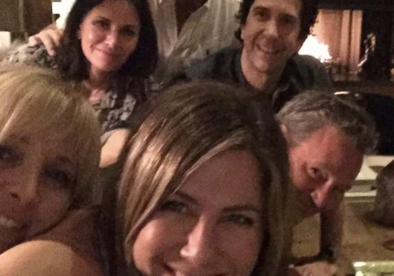 Jennifer Aniston breaks Instagram with FRIENDS reunion photo