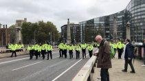 PC cleared of beating protester