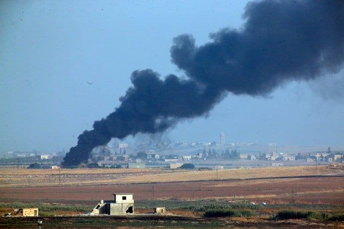 Turkey begins ground offensive in northeastern Syria