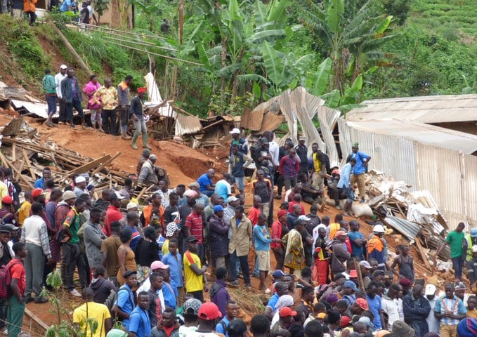 Teen girl pulled out of the rubble as 42 people are killed in Cameroon landslide