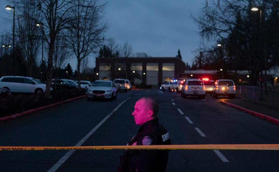 3 Shot Including Gunman Near Vancouver Elementary School